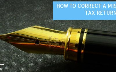 How do I Correct a Mistake on my Tax Return?