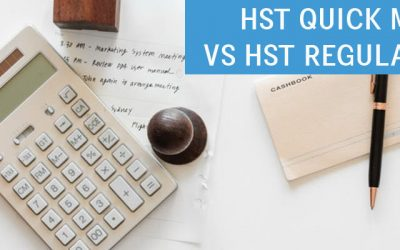 HST Quick Method vs HST Regular Method