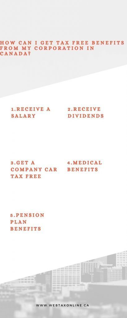 How Can I Get Tax-Free Benefits from My Corporation in Canada?