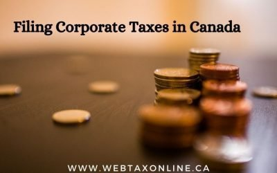 Filing Corporate Taxes in Canada